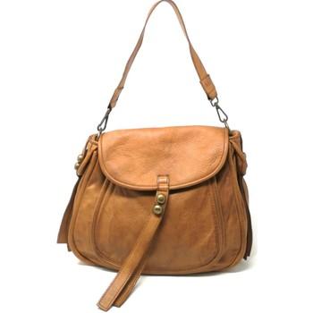 Sacs Femme Sacs porté épaule Oh My Bag MISS ROCK Marron Camel