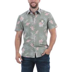Vêtements Homme Chemises manches courtes Ruckfield Chemise d'été en bambou Beige