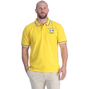 Vêtements Homme Polos manches courtes Ruckfield Polo nations rugby jaune Jaune