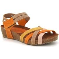 Chaussures Femme Sandales et Nu-pieds Interbios 5338 Multi Multicolor