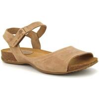 Chaussures Femme Sandales et Nu-pieds Interbios 4458 Beige