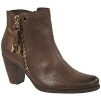 Chaussures Femme Bottines Fugitive Prime taupe Multicolor