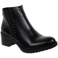 Chaussures Femme Bottines Chattawak Marine Noir