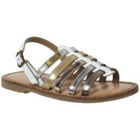 Chaussures Fille Sandales et Nu-pieds Les Tropéziennes par M Belarbi Madison Blanc
