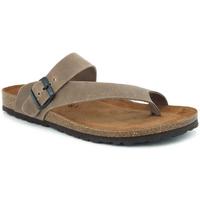 Chaussures Homme Sandales et Nu-pieds Interbios 9511 pardo Marron