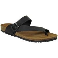 Chaussures Homme Sandales et Nu-pieds Interbios 9511-negro Noir