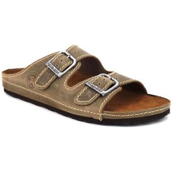 Chaussures Homme Sandales et Nu-pieds Interbios 0200 Marron