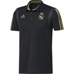 Vêtements Homme Polos manches courtes adidas Originals Polo Real Madrid noir/or