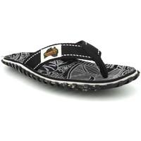 Chaussures Femme Tongs Gumbies Islander Black Signature Noir