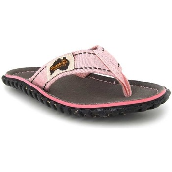 Chaussures Fille Tongs Gumbies Islander Turtle Rose