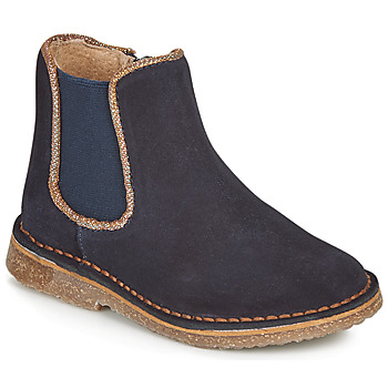 Chaussures Fille Boots André ARIA Marine