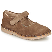 Chaussures Fille Ballerines / babies André LAURIANNE Marron