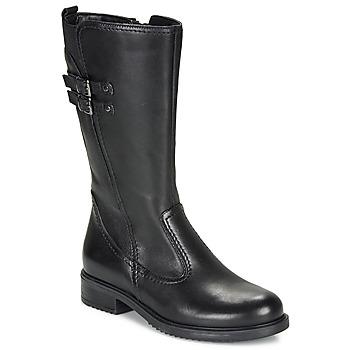 Chaussures Fille Bottes ville André APOLLINE Noir