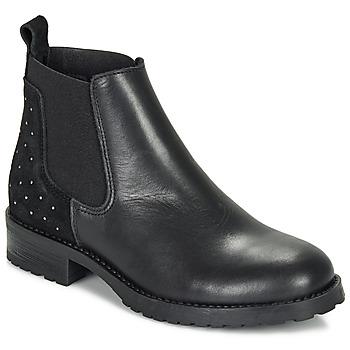 Chaussures Fille Boots André SIXTINE Noir