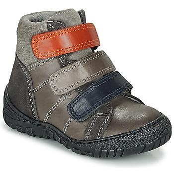 Chaussures Garçon Boots André NOAM Gris