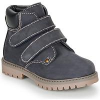 Chaussures Garçon Boots André PHILDO Marine