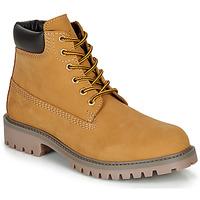 Chaussures Garçon Boots André CHAMOIS Marron / Blé