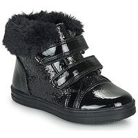 Chaussures Fille Boots André JUDITH Noir