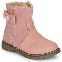 Chaussures Fille Boots André MYA Rose