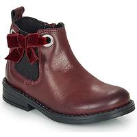 Chaussures Fille Boots André VAL Bordeaux