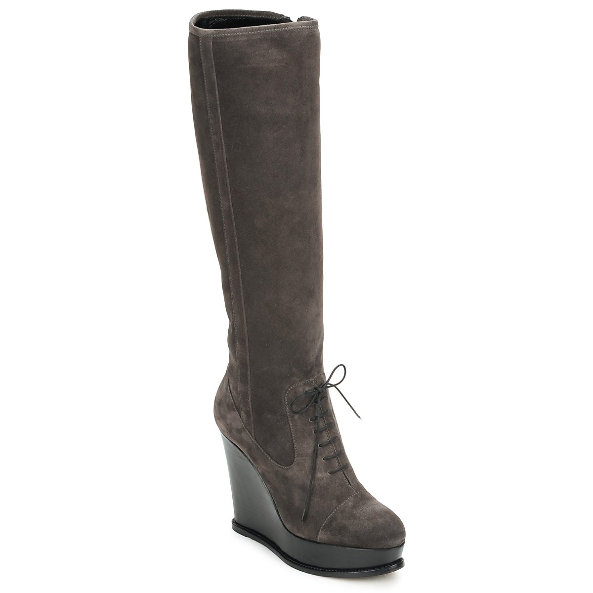 Botte ville Moschino Cheap & CHIC CA2603 Taupe