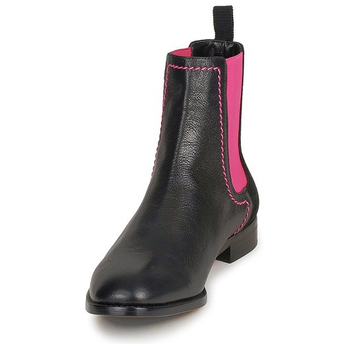 Femme Boots NoirRose Ca2112 Moschino Cheapamp; Chic xCdBoe