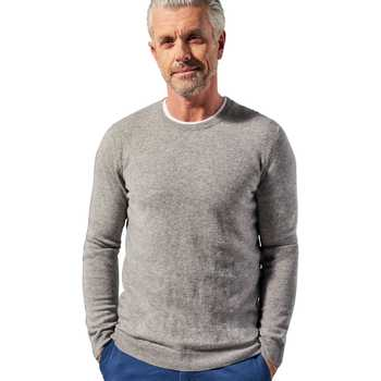 Vêtements Homme Pulls Woolovers Pull à col rond Homme gris