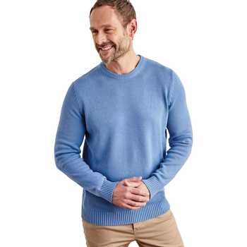 Vêtements Homme Pulls Woolovers Pull à col rond Homme bleu