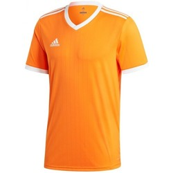 Vêtements T-shirts manches courtes adidas Originals Tabela 18 m/c Orange-White