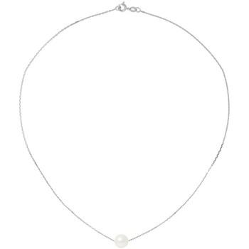 Montres & Bijoux Femme Colliers / Sautoirs Blue Pearls BPS K036 W - OB Nacré