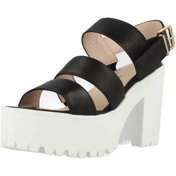 Chaussures Femme Sandales et Nu-pieds Alpe 1822 15 Noir