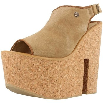 Chaussures Femme Sandales et Nu-pieds Istome SASHA 1 Brun