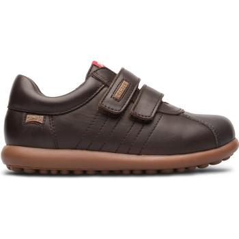 Chaussures Fille Baskets basses Camper Pelotas 80353-044 Enfant marron