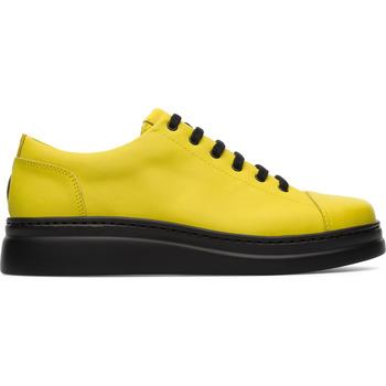 Chaussures Femme Baskets basses Camper Baskets cuir RUNNER UP jaune