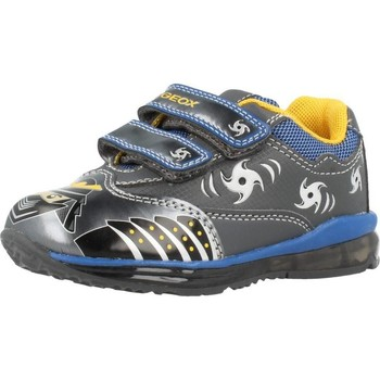 Chaussures Garçon Baskets basses Geox B TODO B. C con luces Gris