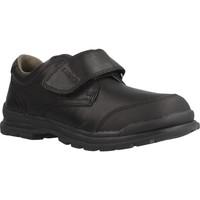 Chaussures Garçon Derbies & Richelieu Geox J WILLIAM A Noir