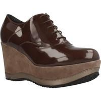 Chaussures Femme Richelieu Bruglia 6076 Marron