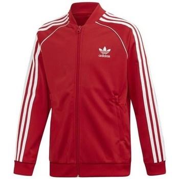 Vêtements Enfant Sweats adidas Originals Superstar Top Rouge
