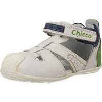 Chaussures Garçon Derbies & Richelieu Chicco 68405 Blanc