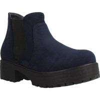 Chaussures Fille Boots Different 4216 Bleu