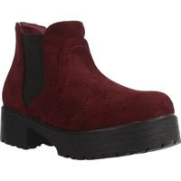 Chaussures Fille Boots Different 4216 Rouge