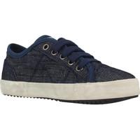 Chaussures Garçon Baskets basses Geox J ALONISSO BOY Bleu
