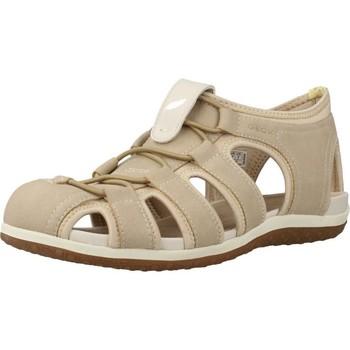 Chaussures Femme Sandales sport Geox D SANDAL VEGA Marron