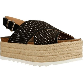 Chaussures Femme Espadrilles Alpe 3356 11 Noir