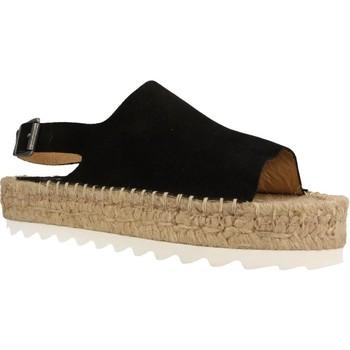 Chaussures Femme Espadrilles Mamalola 464M Noir