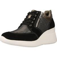 Chaussures Femme Baskets montantes Lumberjack SW24505 Noir