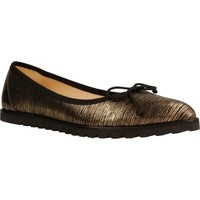 Chaussures Femme Ballerines / babies Xicc Shoes EX229 D´or