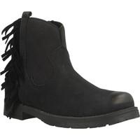 Chaussures Fille Bottines Lulu WENDY Noir