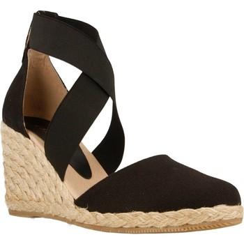 Chaussures Femme Espadrilles Equitare JONES03 Noir
