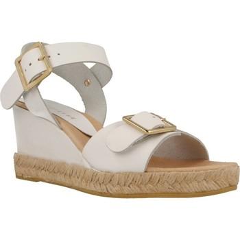 Chaussures Femme Espadrilles Equitare JONES18 Blanc